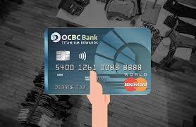 ocbc anium rewards card