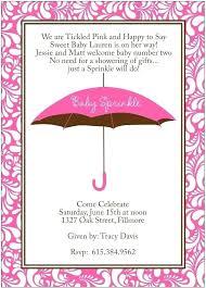 baby shower wording ballerina invitations