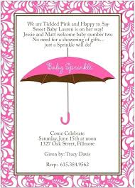 baby shower wording ballerina invitations