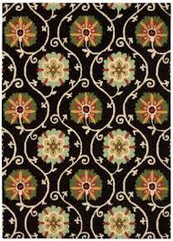 nourison suzani suz03 black area rug