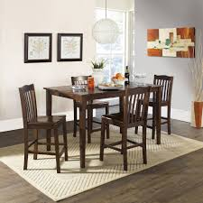 round table santa clara home design of magnificent 5 pc dining table set fresh high dining