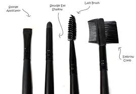 eye makeup brushes and their uses. sponge applicator - a tool with dense, rounded used for even application of challenging products. smudge eye shadow makeup brushes and their uses