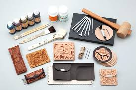 leather stamping tools hand lacing set wallet kit for leather stamping tools