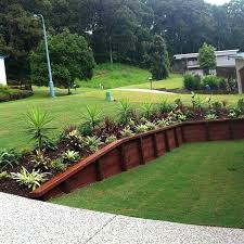 wood landscape wall wood retaining wall landscape fabric