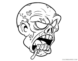 If you've liked our plants vs zombies coloring pages, don't forget to check our other free coloring pages and sheet we have. Scary Coloring Pages Zombie Face Coloring4free Coloring4free Com