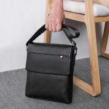 <b>BAQI Brand Men</b> Handbags <b>Men</b> Shoulder Bags Genuine <b>Leather</b> ...