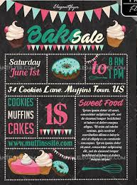 Bake Sale Flyer Templates Free Bake Sale Free Psd Flyer Template Psdflyer Co