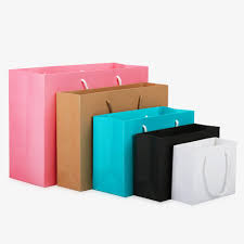 small white kraft paper packaging bag pink garment gift paper bag with handles small black ping bag red and white wrapping paper red wrapping