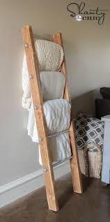 Diy Blanket Ladder Diy Wood And Metal Pipe Blanket Ladder Shanty 2 Chic