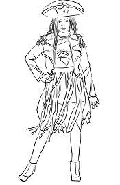 Evie From Descendants Coloring Page Free Coloring Pages Online