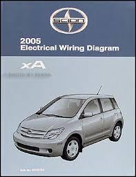 2005 scion xa wiring diagram manual original Scion IQ at Wiring Harness Scion Xa