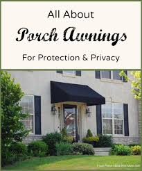 front door awning ideasPorch Awnings  Aluminum Porch Awning  Awnings for Porch