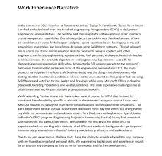 Narrative Resume Samples Download Narrative Resume Samples DiplomaticRegatta 3