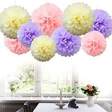 Hanging Paper Balls Decorations