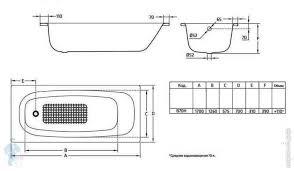 <b>Ванна стальная JIKA Tansa</b> S HG 170х70 толстостенная, без ...