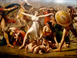 the intervention of the sabine women by jacques louis david oil on canvas 385 x 522 cm jacques louis david was my favorite during art history in high