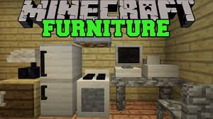minecraft furniture mod (computer tv fridge oven couch