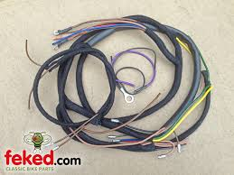 electrical wiring harness bsa wiring harness bsa wiring m20 wiring harness bsa wiring harness m20, m21, m24 with tank mounted panel 1938 39