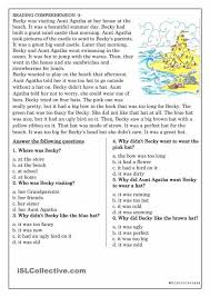 Worksheet Template : Reading Comprehension Worksheets For Advanced ...