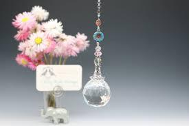 Crystal Light Catcher Crystal Sun Catcher Large 40mm Hanging Crystal Sphere