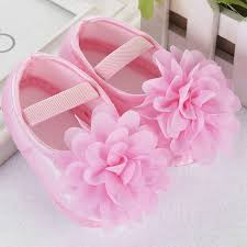 Flower/Bowknot Newborn Infant Baby Girls Shoes Soft First Walker For ...