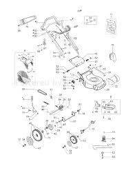 Efco lr 53 fort plus allroad k800 emak engine lawnmower lr