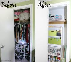 how to organize a craft closet without spending a dime love how this isn