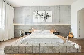 Antique Minimal Platform Bed