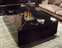 modern black coffee table. Visionnaire Pelleas Black Coffee Table Modern-living-room Modern O