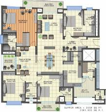6000 sq ft house plans india