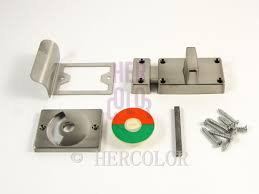 bathroom lock home design safe security toilet bathroom indicator bolt door lock