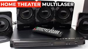HOME THEATER MULTILASER SP268 DVD 5.1 320W - YouTube