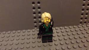 Lego Ninjago Movie Lloyd Hood Test - YouTube