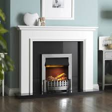 dimplex mansfield 2kw chrome optimyst electric inset fire