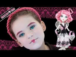 c a cupid monster high doll costume makeup tutorial how to do your makeup to look
