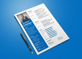 Free Modern Resume Template In Word Docx Format Good Resume