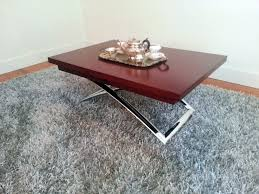 Coffee Table Turns Into Dining Table Coffee Table That Folds Into Dining Table