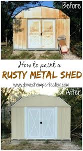 how to paint a rusty metal roof rusted metal roofing a best of how to paint a rusty metal shed
