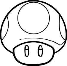 Small Picture Mario coloring pages mushroom ColoringStar