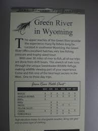 Wyoming Hatch Chart Fly Fishing The West With Howard May 2012
