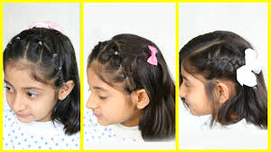 Hair Style For Medium Hair 3 simple & cute hairstyles for medium hair mymissanand youtube 4927 by wearticles.com