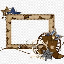 picture frames cowboy vaquero cuadro clip art western