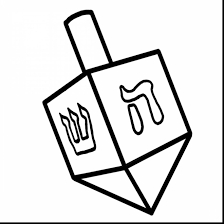 Small Picture remarkable dreidel clip art black and white with menorah coloring