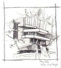 falling water house plan plans and section pdf elevations interior frank lloyd wright waterfall image falling