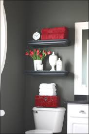 Red Bathrooms Best Of Bathroom Decorating Ideas with Shower Curtain House  Decor Picture