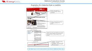 Citing A Website Article Mla Cite It At Easybibcom Website A