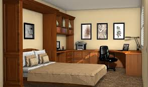 murphy bed home office. Murphy Bed Office Furniture Pertaining To Custom Home Offices Kitchen Cabinets Wall Beds Remodel 4