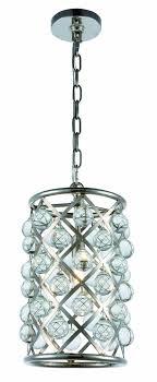 madison 1 light polished nickel pendant
