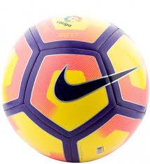 <b>Мяч футбольный Nike Pitch</b>-La Liga желтый/синий цвет — купить ...