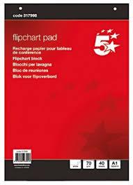 Flip Chart Pad Rs Pro Plain A1 Flip Chart 40 Sheets
